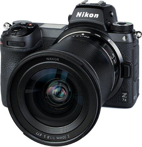 Bild Das Nikon Z 20 mm F1.8 S ist wie die Testkamera Nikon Z 7II gegen Staub und Spritzwasser geschützt. [Foto: MediaNord]
