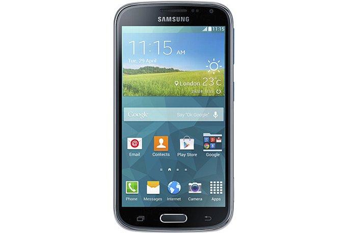 Bild Der Bildschirm des Samsung Galaxy K Zoom misst 4,8 Zoll (12,2 Zentimeter) in der Diagonale. [Foto: Samsung]