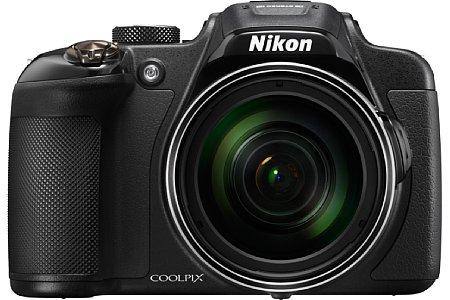 Bild Die Nikon Coolpix P610 unterstützt nun neben der WiFi-Funktionalität auch NFC. Außerdem kann sie Geodaten der Satellitensysteme GPS, Glonass und QZSS aufzeichnen. [Foto: Nikon]