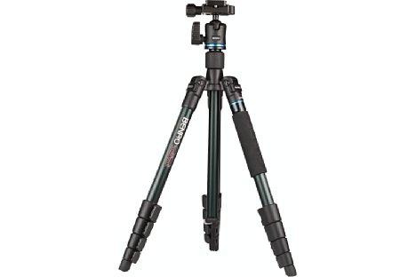 Bild Das Benro iTrip IT15 hat eine Arbeitshöhe von knapp 48 cm, wenn die Beine maximal angewinkelt sind. [Foto: MediaNord]