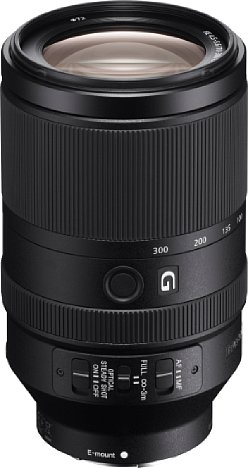 Bild Das Sony FE 70-300 mm F4.5-5.6 G OSS (SEL-70300G) besitzt ein Metallgehäuse, das aber einen Spritzwasser- und Staubschutz vermissen lässt. [Foto: Sony]