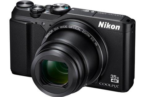 Bild Als Nachfolgemodell der Coolpix S9900 besitzt Nikon Coolpix A900 nun einen 20 Megapixel auflösenden CMOS-Sensor mit 4K-Videofunktion. [Foto: Nikon]