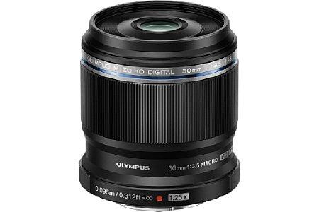 Bild Das Olympus 30 mm 3.5 ED Makro erreicht bei einer Naheinstellgrenze von 9,5 Zentimetern (1,5 Zentimeter ab Objektivfront) eine 1,25-fache Vergrößerung (2,5-fach im Kleinbildäquivalent). [Foto: Olympus]