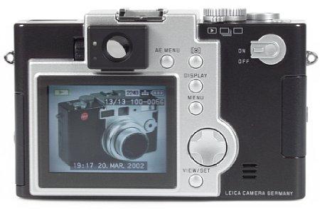 Digitalkamera Leica Digilux 1 [Foto: MediaNord]