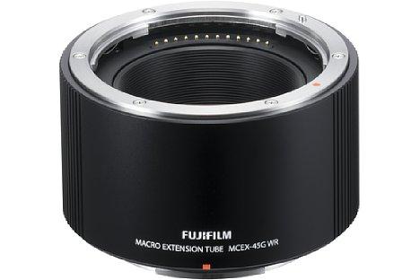 Bild Mit dem 45 mmZwischenringFujifilm MCEX-45G lässt sich der Abbildungsmaßstab des 120mm-Makroobjektivs von 1:2 auf 1:1 verbessern. [Foto: Fujifilm]