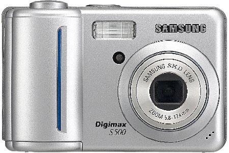 Samsung Digimax S500 silber [Foto: Samsung]