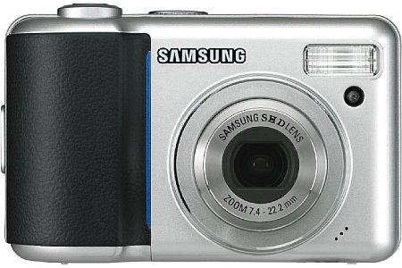 Samsung Digimax S800 silber [Foto: Samsung]
