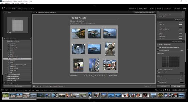 Bild Die Module Buch, Diashow, Drucken und Web funktionieren auch ohne Lizenz. [Foto: MediaNord]