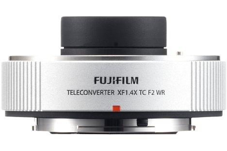 Bild Extra passend zum 200er gehört der Teleconverter Fujifilm XF1.4X TC F2 WR zum Lieferumfang. Die kleinbildäquivalente Brennweite wird bei einer Lichtstärke von F2,8 auf 427 Millimeter erhöht. [Foto: Fujifilm]