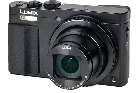 Bild Die Panasonic Lumix DMC-TZ71 besitzt einen praktischen Objektivring, über den sich verschiedene Einstellungen steuern lassen. [Foto: MediaNord]