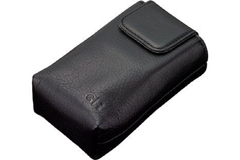 Bild Die 80 Euro teure Leder-Weichtasche Ricoh GC-12 soll die GR IIIx oder alternativ die GR III vor Beschädigungen schützen. [Foto: Ricoh]