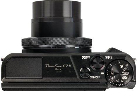 Bild Unter dem Programmwählrad der Canon PowerShot G7 X Mark II sitzt das Belichtungskorrekturrad. Sinnvollerweise wirkt es nicht in der Vollautomatik, sondern nur in den Kreativprogrammen. [Foto: MediaNord]