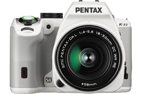 Bild Dank WLAN und NFC kann die Pentax K-S2 vom Smartphone oder Tablet aus ferngesteuert werden. [Foto: Ricoh]
