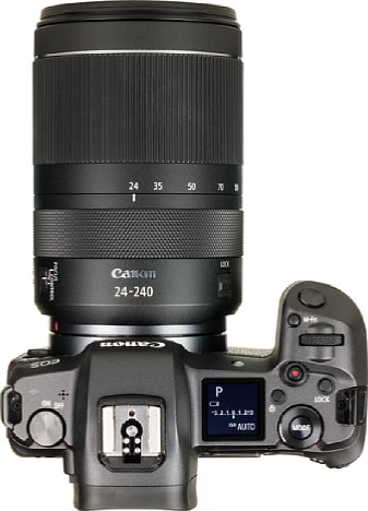 Bild Bis auf die fehlende AF-MF-Umschaltung lässt sich das Canon RF 24-240 mm 4-6.3 IS USM gut bedienen, die Ausstattung mit schnellem Ultraschall-Autofokus und Bildstabilisator lässt nichts zu Wünschen übrig. [Foto: MediaNord]