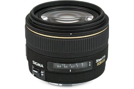 Sigma AF 30mm EX DC HSM 1.4 [Foto: Imaging One GmbH]