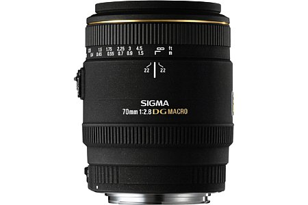 Sigma DG 70mm f2.8 EX [Foto: Sigma]