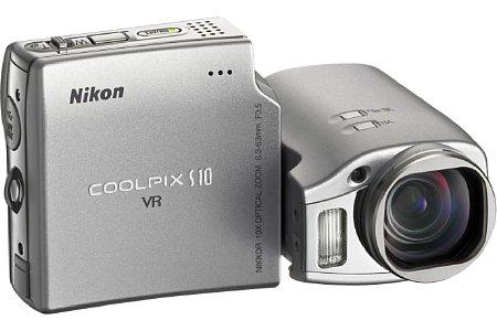 Nikon Coolpix S10 [Foto: Nikon Deutschland]
