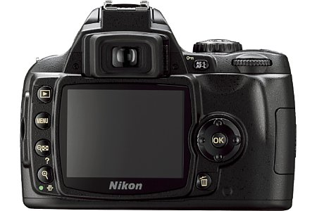 Nikon D40 Front schwarz [Foto: Nikon Corp.]