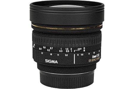 Sigma 8mm F3.5 EX DG Fisheye [Foto: Imaging One GmbH]