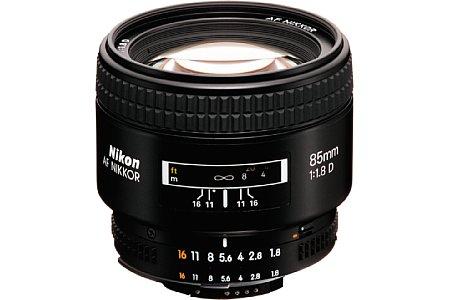 Nikon AF 85 mm 1,8 [Foto: Nikon]