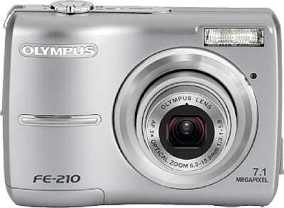 Olympus FE-210 [Foto: Olympus Imaging Europa GmbH]