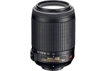 Nikon Nikkor AF-S DX VR 55-200 F/4-5,6 [Foto: Nikon]