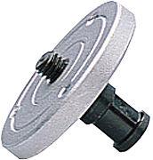 Bild: Stativzubehör Manfrotto MA 208 Adapterplatte [Foto: Imaging One]