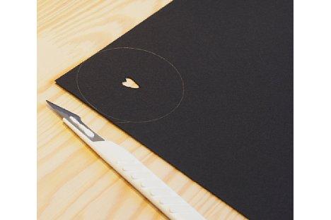 Bild Danach schneiden Sie die gewünschte Form vorsichtig und sauber aus. [Foto: MediaNord]