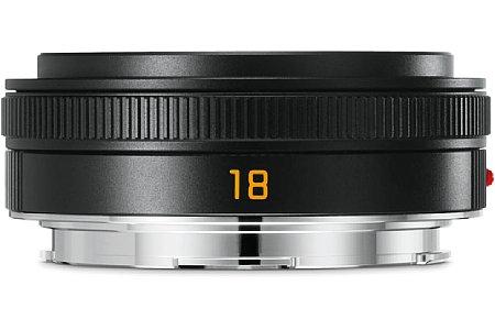 Bild Das Leica Elmarit-TL 1:2,8/18 Asph. gibt es auch in Schwarz, das ändert aber nichts am mit fast 1.200 Euro sehr hohen Preis. [Foto: Leica]