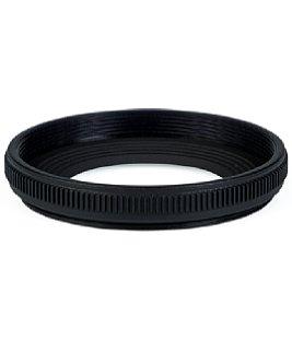 Bild Die Streulichtblende desNikon Z MC 50 mm F2.8 ist winzig klein und damit fast wirkungslos. [Foto: MediaNord]