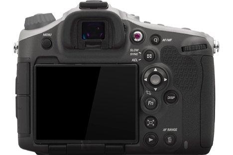 Bild Von hinten gleicht die Hasselblad HV weitgehend der Sony Alpha 99V. [Foto: Hasselblad]