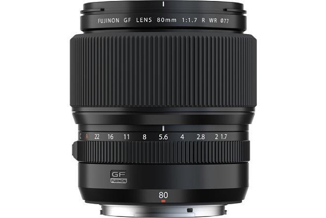 Bild Dank des Blendenrings lässt sich das Bokeh des Fujifilm GF 80 mm F1.7 R WR direkt am Objektiv steuern. [Foto: Fujifilm]