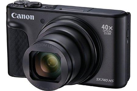 Bild Mit dem Modell PowerShot SX740 HS bringt Canon seiner Reisezoomklasse die 4K-Videofunktion bei. [Foto: Canon]