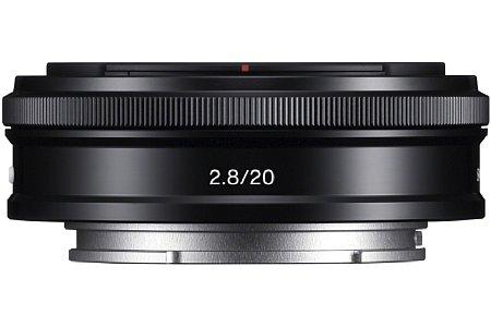 Sony E 20 mm F2,8 (SEL20F28) [Foto: Sony]