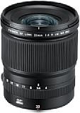 Mit einer kleinbildäquivalenten Brennweite von 18 Millimetern ist das Fujifilm GF 23 mm F4 R LM WR das weitwinkligste Objektiv im GFX-System. [Foto: Fujifilm]
