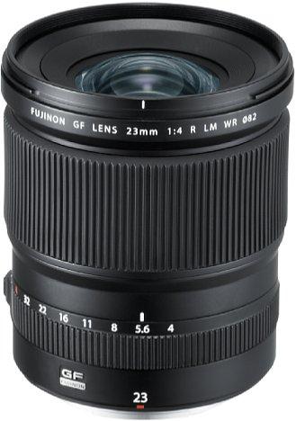 Bild Fujifilm GF 23 mm F4 R LM WR. [Foto: Fujifilm]