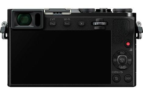 Bild Auf der Rückseite bietet die Panasonic Lumix DMC-GM5 einen 7,5 Zentimeter großen 16:9-Touchscreen mit 921.000 Bildpunkten Auflösung. [Foto: Panasonic]