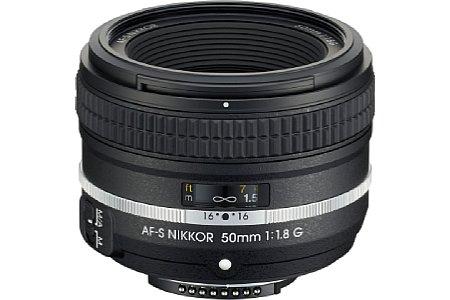Nikon AF-S 50 mm 1:1,8 G SE [Foto: Nikon]