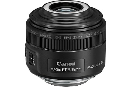 Canon EF-S 35 mm 2.8 Macro IS STM. [Foto: Canon]