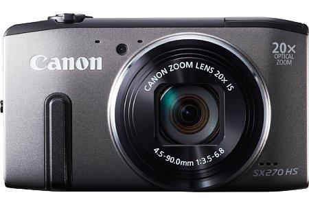 Bild Der 1/2,3 Zoll kleine CMOS-Sensor der Canon PowerShot SX270HS löst 12,1 Megapixel auf. Sie bietet ein optisches 20-fach-Zoom von 25-500 mm samt Bildstabilisator. [Foto: Canon]