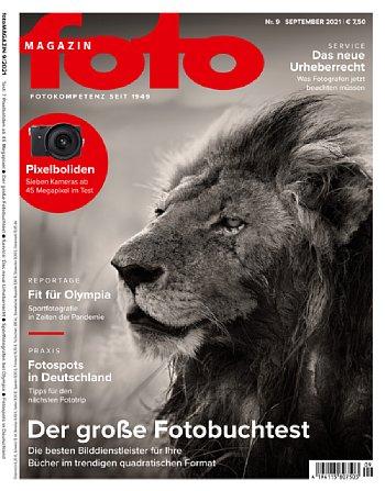 Bild fotoMagazin 09/2021. [Foto: MediaNord]