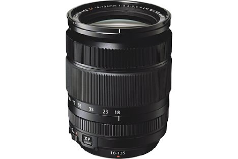 Bild Fujifilm XF 18-135 mm F3.5-5.6 R LM OIS WR [Foto: Fujifilm]