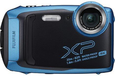 Bild 25 Meter tief kann man mit der Fujifilm FinePix XP140 ohne zusätzliches Unterwassergehäuse tauchen. Auch Stürze aus 1,75 m Fallhöhe, Staub und Frost bis -10 °C tun ihrer Funktion keinen Abbruch. [Foto: Fujifilm]