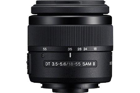 Sony DT 18-55 mm 3.5-5.6 SAM II [Foto: Sony]