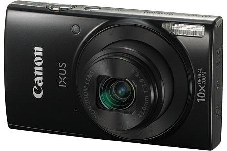 Bild Die Canon Ixus 180 besitzt ein Zehnfachzoom von 24-240 Millimeter samt Bildstabilisator. Auch sie bringt es auf 20 Megapixel Auflösung und der CCD-Sensor ermöglicht HD-Videoaufnahmen. [Foto: Canon]