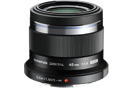 Olympus 45 mm F1.8 (EZ-M4518). [Foto: Olympus]