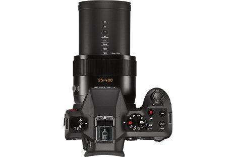 Bild Die Leica V-Lux (Typ 114) besitzt ein optisches 16-fach-Zoom von umgerechnet 15 bis 400 Millimeter. [Foto: Leica]