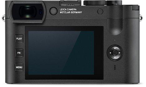 Bild Sucher und Bildschirm arbeitet bei der Leica Q2 Monochrom hingegen in Farbe. Zudem lassen sich die Fotos mit einer Tonung in Blau, Sepia oder Selen versehen. [Foto: Leica]