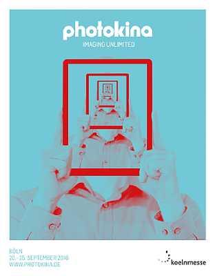 Logo der Photokina 2016, die vom 20. bis 25. September in Köln stattfindet. [Foto: Koelnmesse GmbH]