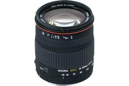 Sigma 28-200 mm 3.5-5.6 AF Asp Makro. [Foto: Sigma]